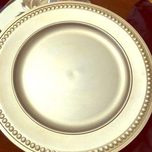 9 wedding plates never used